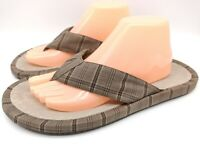 Bed Stu Men's Brown Flip Flop Sandals Size 10 New w/ Tags Very Nice!!