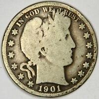 1901-O BARBER HALF DOLLAR ~  ~ PRICED RIGHT! INV.#227