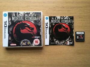 Ultimate Mortal Kombat Nintendo DS 2DS Lite 3DS Game Complete
