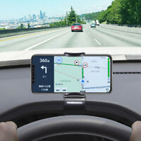 Universal Car Dashboard Cell Phone Clip Holder Mount Stand Cradle HUD Design x1