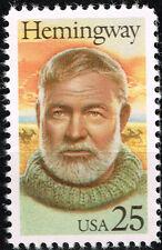 US Famous Writer Ernest Hemingway Nobel Prize in Literature stamp 1989 MNH