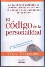 El codigo de la personalidad/ The Code of Personality Spanish Edition
