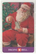 Pacific Bell 1994 $20 Santa and Cell Phone.  Sample Phone Card