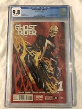 ALL NEW GHOST RIDER #1 CGC 9.8 1st first Appearance Robbie Reyes 2014 Marvel