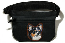 Chihuahua (chihuahueño) gift - Embroidered Dog treat bag  - for dog shows.