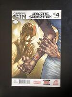 Amazing Spider-Man #4 2nd Print (second) 1st app Of Silk - NM -  (2014)