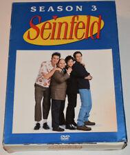 Seinfeld - Season 3 (DVD, 4-Disc Set)