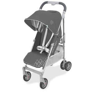 NIB Maclaren Techno ARC Baby Single Stroller Buggy Charcoal/Silver