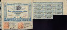 Comp Universelle Canal Interoceanique de PANAMA 1880 Lesseps  500 FR