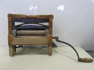 Vintage Lowell Mfg. Co. Anchor Brand Wringer for Washer