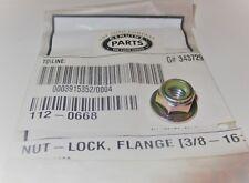 (m429) Genuine OEM Toro # 112-0668 or # 112-5994 Flange Lock Nut (3/8-16)