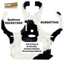 Cow Skin Spektrum DX6 DX7 DX8 Gen 2 Transmitter Radio Skin Wrap Decal