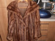 Beautiful 1950s  Ladies Elegant Ladies Mink  Fur Coat