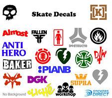 Skate Stickers Set of 20 Skateboard Brand Decals DC Element Zero Fallen Real DGK