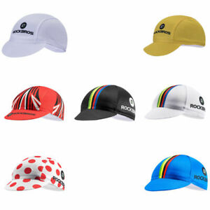 ROCKBROS World Champion Pro Team Cycling Cap Hat Helmet Caps Suncap 10 Styles