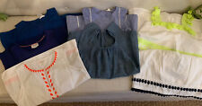 J Crew Crewcuts & Boden Girls' Clothing Lot of 7 Shirts & 1 Shorts Tops Sz 12