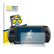 2x Protector Pantalla Mate para Sony PSP 1000 Película Protectora