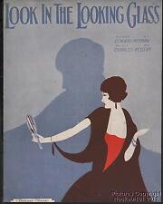 1931 Edward Heyman & Charles Rosoff Sheet Music (Look in the Looking Glass)