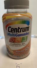 Brand New Centrum MultiGummies Men 50+ Multivitamin Exp 05/2020 - 03/2020