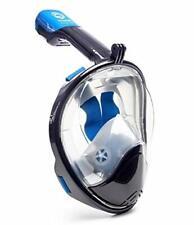 Octobermoon Full Face Snorkel Mask L/Xl Black + Free Shipping