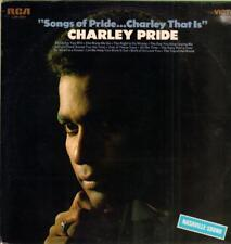 Charley Pride(1st Issue Vinyl LP)Songs Of Pride Charley That Is-RCA-LSP-Ex/Ex-