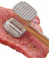 7 Inches Aluminum Meat Tenderizer For Meat , Silver