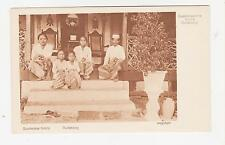 Bogor,West Java,Indonesia,Sudanese Family,Netherlands East Indies,c.1909