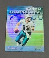 Dan Marino Miami Dolphins 1999 Stadium Club Chrome Never Compromise Refractor