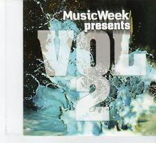 (FR28) Music Week Presents Vol 2, 8 tracks various artists - 2010 CD