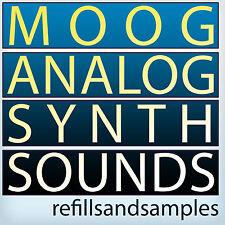 Moog Synth Sound Analog Vintage Soundfont Sf2 Reason NNXT Exs 24 Akai Samples CD