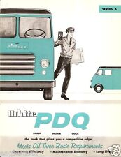 Truck Brochure - White - Pdq - A7 A8 Series A Delivery Parcel Van - 1960 (Tb537)