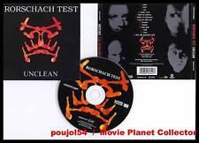 """RORSCHACH TEST """"Unclean"""" (CD) 1998"""
