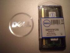 Dell snpf073fc/2gb f073f Ddr3 De 2 Gb 2rx8 Pc3-10600s 1333 Mhz Laptop Memory
