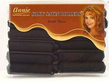 ANNIE SILKY SATIN FOAM HAIR ROLLERS - 12 PCS. (1244)