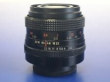 Carl Zeiss Jena FLEKTOGON 35 mm f2.4 Prime Lens M42