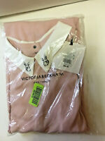 Victoria Beckham for Target 2X Plus Size Dress 👗 Blush Pink Long-Sleeve Bunnies