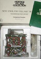 Department 56 New England Christmas Village Woodbridge Post Office #56572 New