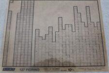 Fiat 127 Fiorino  -  Ersatzteil Microfich Microfilm    #60330617
