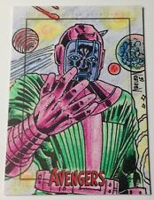 Marvel Avengers Silver Age 1/1 SketchaFEX Kang Sketch Card by Armando Abeleda