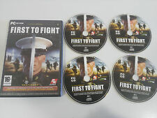 FIRST TO FIGHT UNITED STATES MARINES JUEGO PARA PC 4 X CD-ROM EN ESPAÑOL 2K GAME