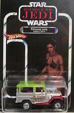 Matchbox CUSTOM TOYOTA LAND CRUSER Star Wars Carrie Fisher Princess Leia Tribute