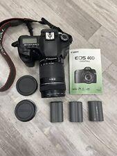 Canon EOS 40D 10.1MP Digital SLR Camera - Black (Kit w/ 18-135mm Lens)