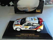 Ixo 1/43 Ford Focus WRC #27 Monte Carlo 2002 Kremer