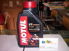 Olio Motore Moto Motul 710 2T 100% Sintetico - 5 litri lt OLIO MISCELA