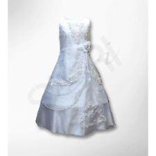 Vêtements de cérémonie robe blanche pour fille