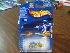 VHTF 2002 Hot Wheels Go Kart Yellow 2002-198 MONMC