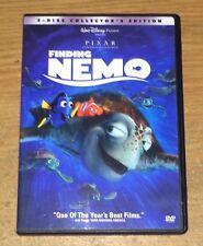Disney Pixar Finding Nemo Dvd 2-Disc Set Complete Great Movie