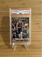 2018 Panini Chronicles Luka Doncic #111 Mavericks RC Rookie PSA 8 NM-MT