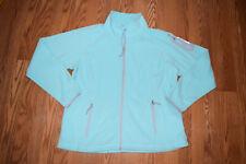 NWT Womens FREE COUNTRY Mint Green Fleece Microfleece Full Zip Jacket M