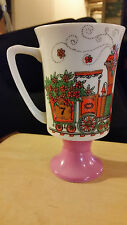 Arnart Japan 5th Ave #2284 Pedestal Footed Coffee Cup Chattanooga Choo Train # 7